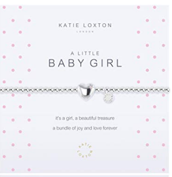 A Little Baby Girl Silver Bracelet