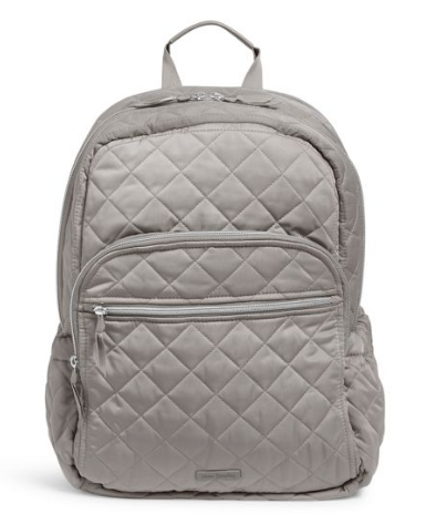 VERA BRADLEY ICONIC CAMPUS BACKPACK TRANQUIL GRAY