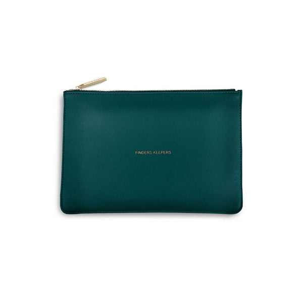 Finders Keepers The Perfect Pouch Teal