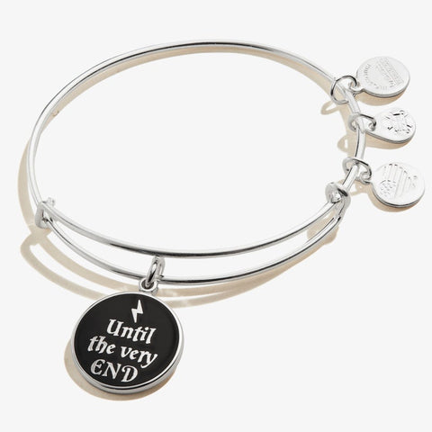 ALEX & ANI HARRY POTTER UNTIL THE VERY END BANGLE BRACELET
