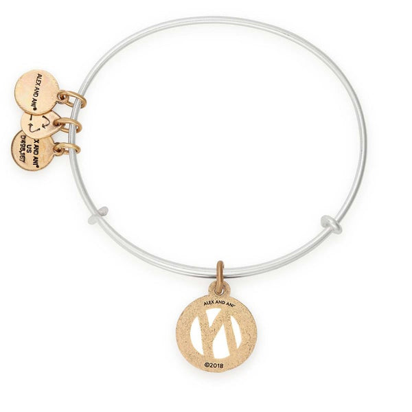 ALEX & ANI INITIAL N TWO TONE
