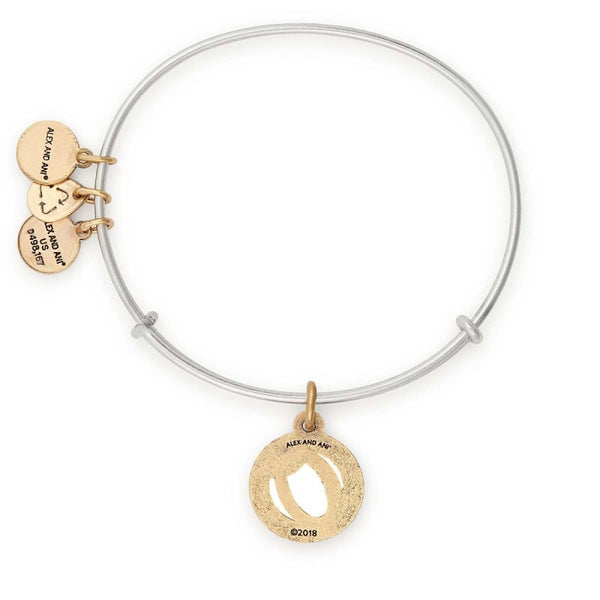 ALEX & ANI INITIAL O TWO TONE
