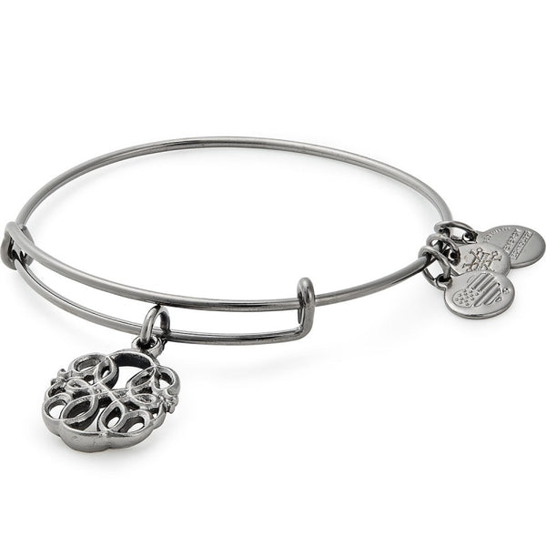 Path Of Life Bangle Bracelet Silver
