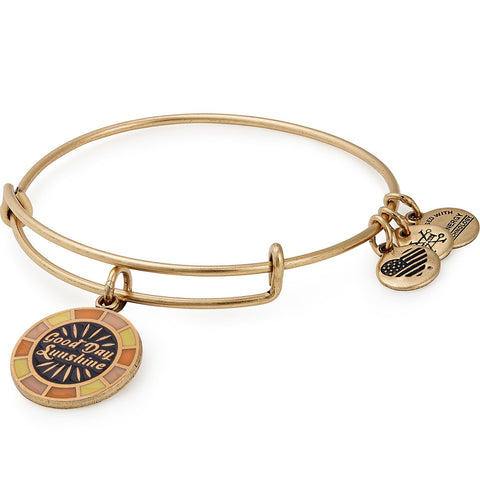 GOOD DAY SUNSHINE BANGLE,  GOLD