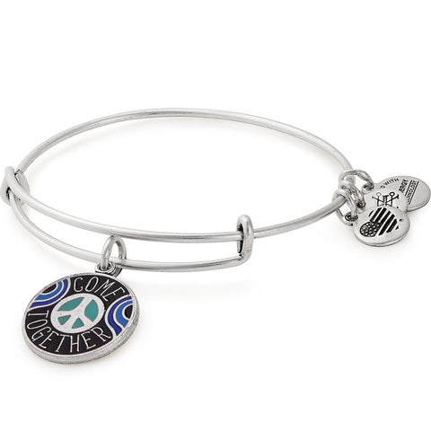 COME TOGETHER BANGLE, SILVER