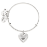 LIVING WATER CHARM BANGLE SILVER