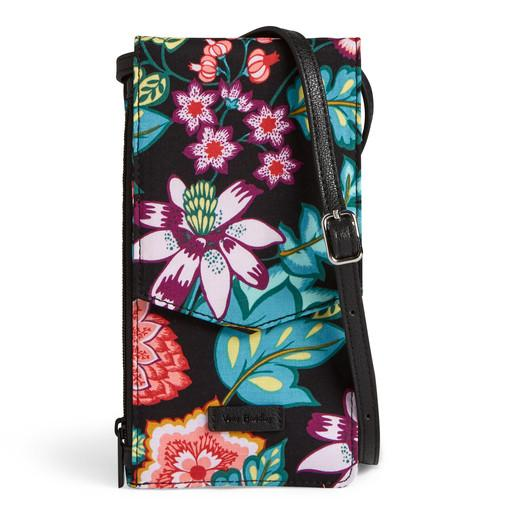 Iconic Rfid Envelope Crossbody Vines Floral