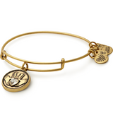 Alex And Ani Claddagh Gold Bangle