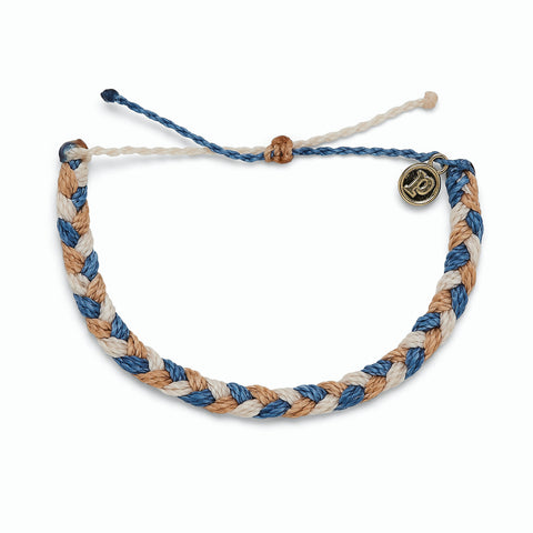 Happy Trails  Braided Bracelet