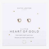 A Little Heart Of Gold Earrings
