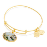 Creation Of Adam Charm Bangle - Alex And Ani
