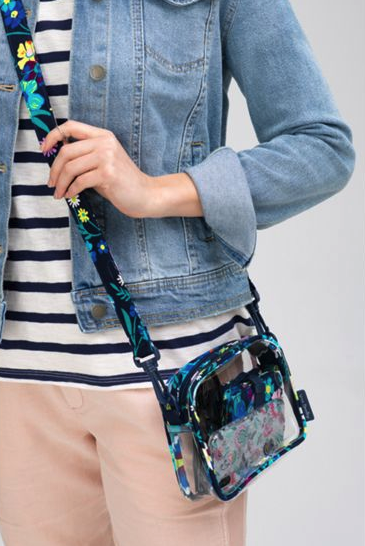 Clearly Colorful Moonlight Garden Stadium Crossbody