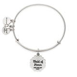 ALEX & ANI MAID OF HONOR BANGLE SILVER