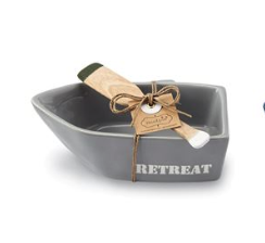 mudpie retreat dip bowl