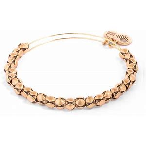 Traveler Beaded Expandable Bangle Gold