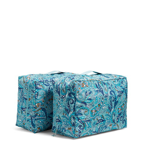 Storage Bag Duo Daisy Dot Paisley - Vera Bradley
