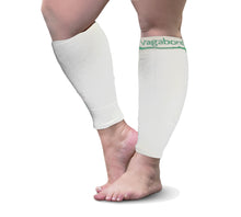 Load image into Gallery viewer, Vagabond XXL Wide Calf Graduated Compression Sleeves