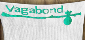 Vagabond XXL and XXXL Wide Calf Graduated Compression Sleeves, White