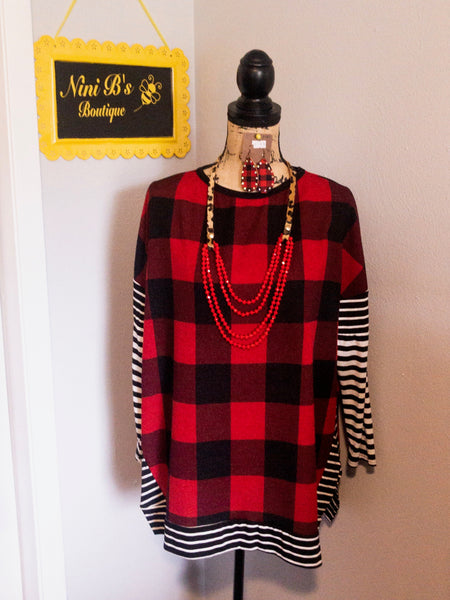 LUMBER JANE TOP