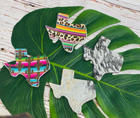 TEXAS SHAPED RECENTIT CAR CHARMS