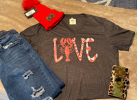 LOVE CRAWFISH SHIRT V NECK