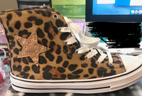 LEOPARD HIGHTOP CHUCKS