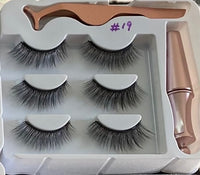 3 PIECE SET MAGNETIC LASHES SET 19