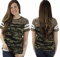 LEO AND CAMO TOP
