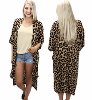 LOUNGING LEOPARD DUSTER