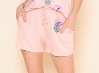 BLUSH LIP SHORTS