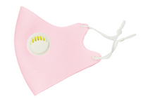 LIGHT PINK VALVE MASK