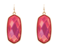 IRIDESCENT PINK KENDRA NOT EARRINGS