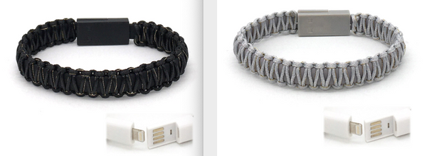 SHOELACE THREAD CHARGING BRACELET