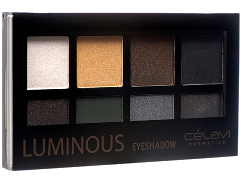 8 SHADE LUMINOUS EYESHADOW PALETTE