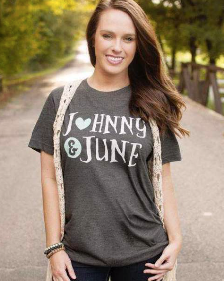 JOHNNY & JUNE T SHIRT
