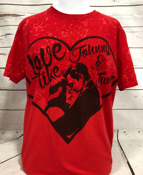 A LOVE LIKE JOHNNY AND JUNE T SHIRT
