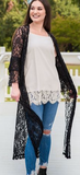 THE NEW & IMPROVED BLACK LACE DUSTER BLACK