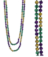 "MARDI PARTY 60"" BEAD NECKLACE"
