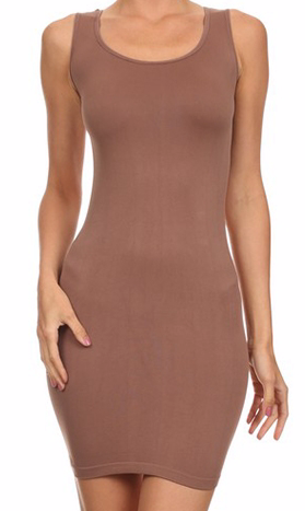 TAUPE Wide Strap Cami