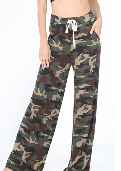 Catch Me in Camo Lounge pants