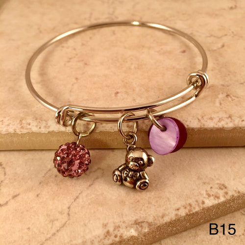 Teddy Bear Bracelet