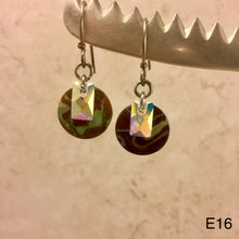 Load image into Gallery viewer, Abalone Round Earrings