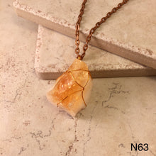 Load image into Gallery viewer, Orange Calcite Necklace
