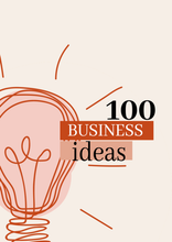 Load image into Gallery viewer, 100 Business Ideas