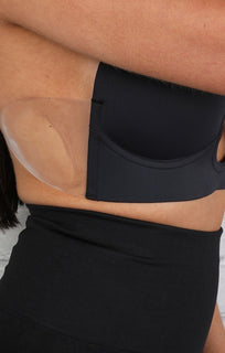 Black Backless Low Rise Bra
