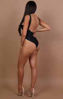 Black 'los Angeles' Swimsuit - Mia