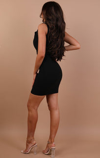 Black Blazer Dress - Amelia