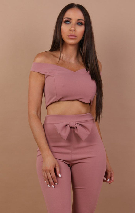 Bow Front Co-ord Set - Tara