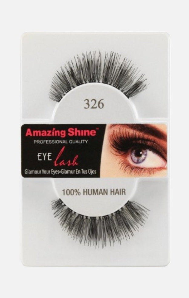 100% Human Hair lashes 326