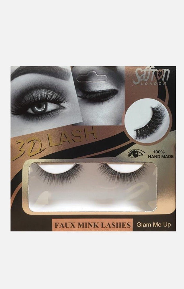 Saffron Faux Mink False Eyelashes - Glam Me Up
